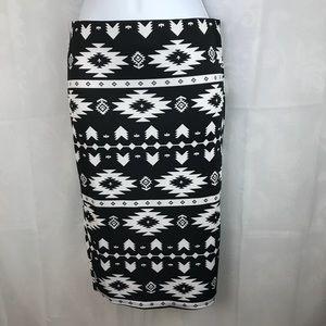 Womens Medium Printed skirt